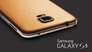 Galaxy S5 Gold