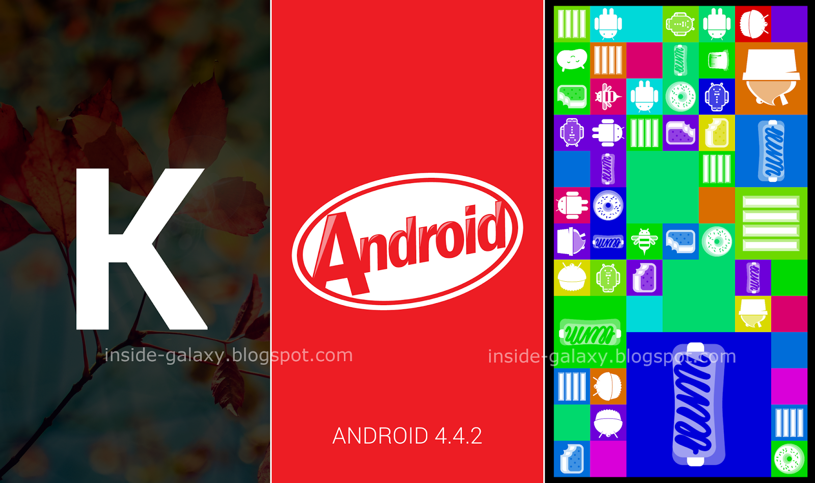 Android 4.4 Kitkat easter egg animation in Galaxy S4