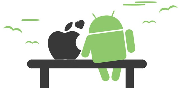Apple loves Android