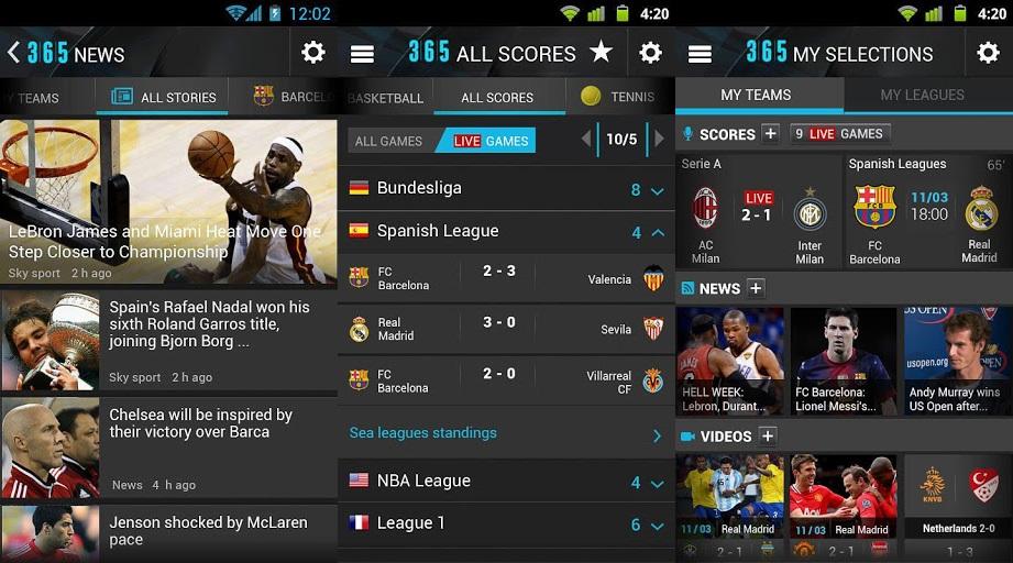 Migliori app Calcio e Sport live minuto per minuto: Top 3