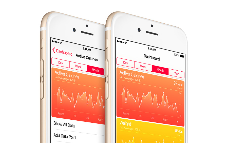 Apple health fitness App