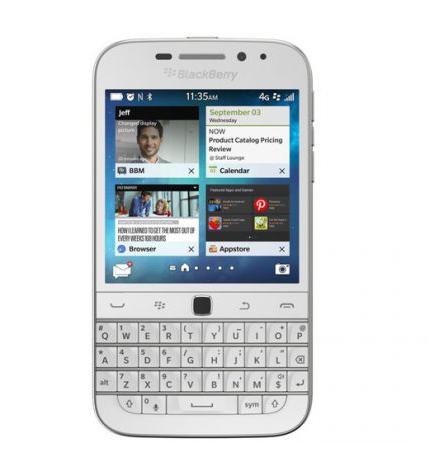 Blackberry classic white