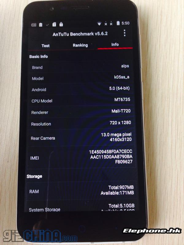 Elephone-p4000-dati