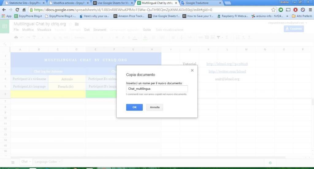 Google_Fogli_chat_multilingua
