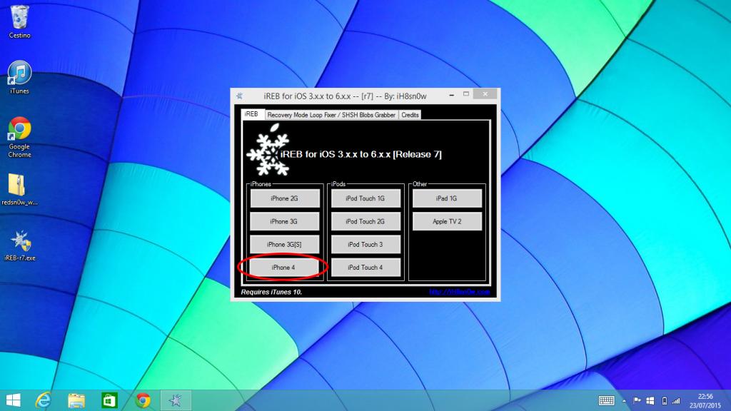 Downgrade senza SHSH Windows (1)
