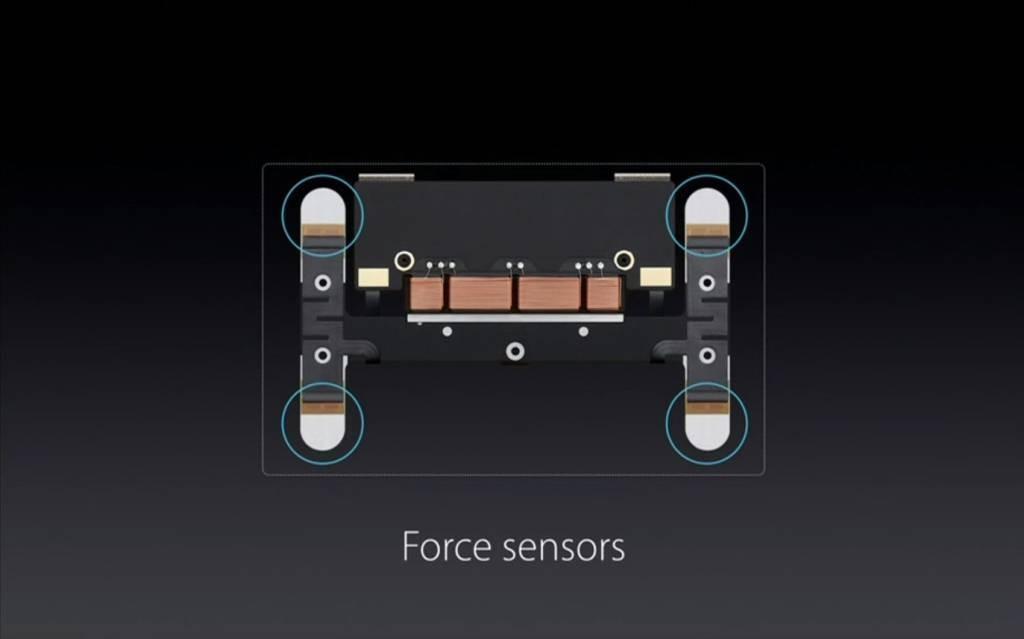 Force Touch sensori
