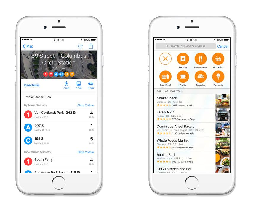 Transit iOS 9