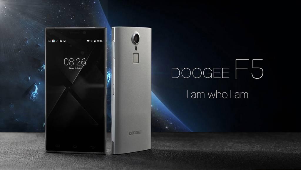 Doogee F5: phablet in alluminio e sensore d'impronte a soli 123 euro! [Offerta]