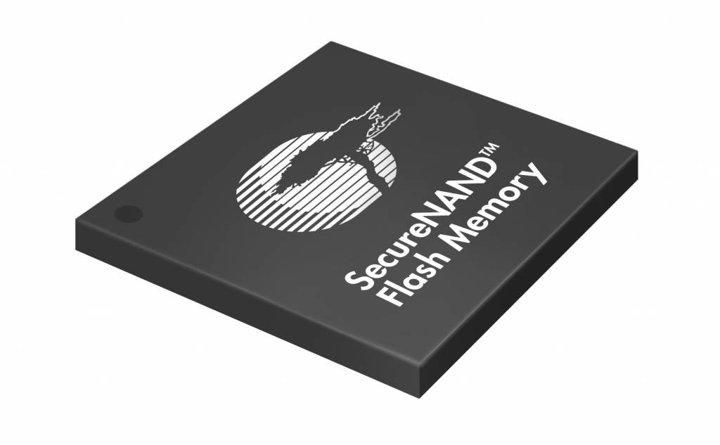 Secure NAND Flash Memory