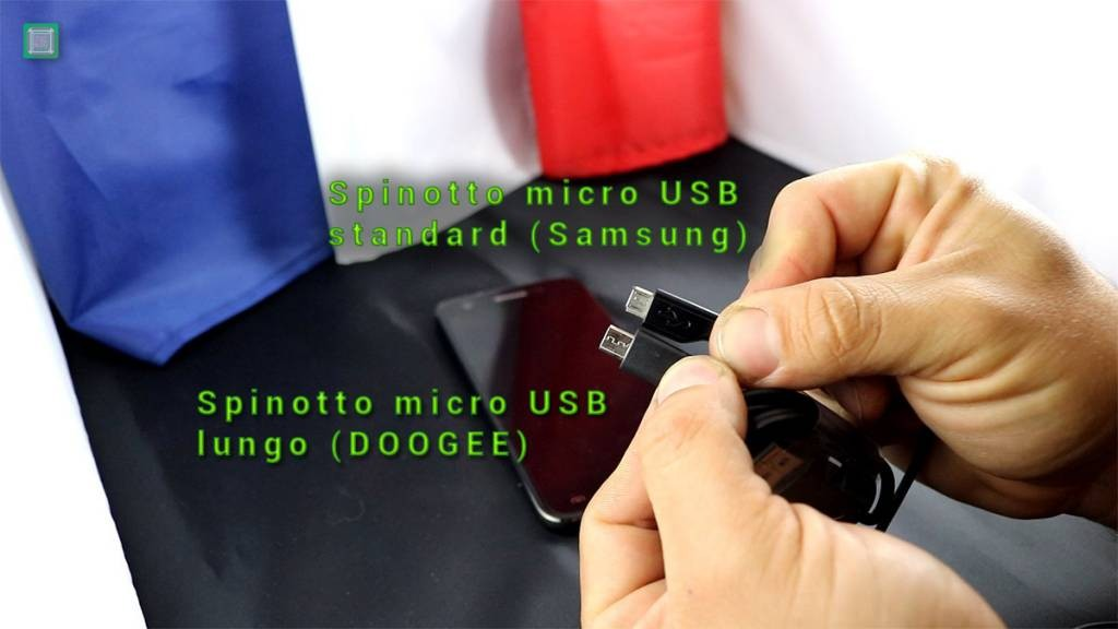 Doogee F3 Pro micro USB