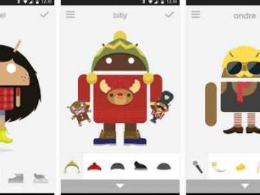 Androidify nuovo aggiornamento per Natale