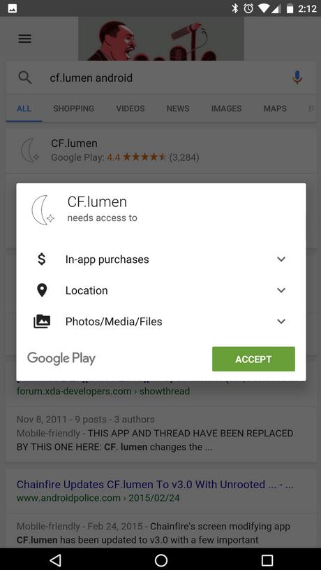 Google installazione app