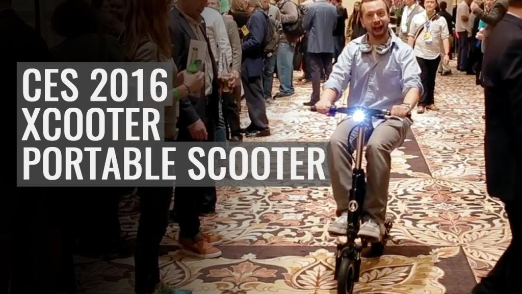 X-scooter ces2016