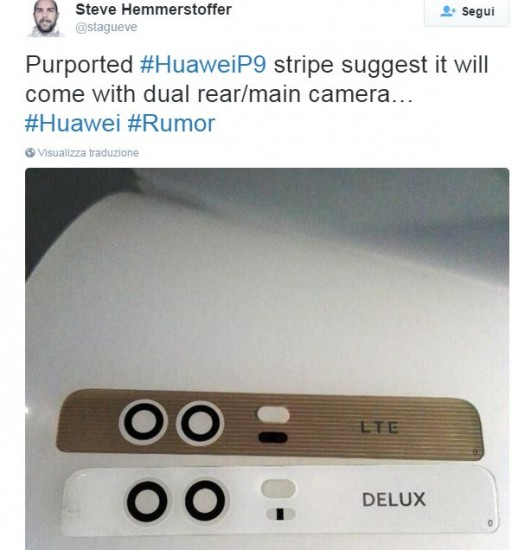 huawei p9 twitter ces 2016