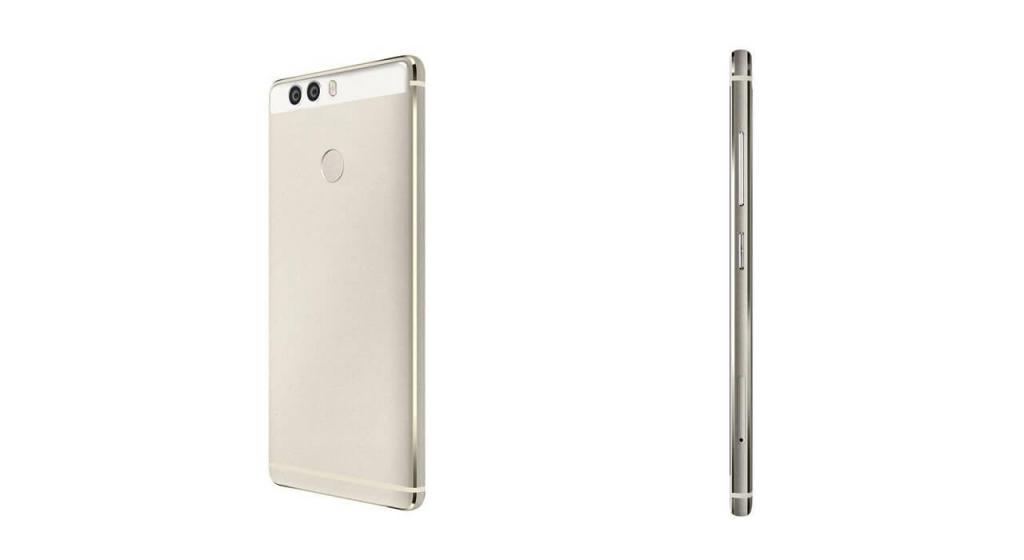 Render di back side e margine laterale di Huawei P9