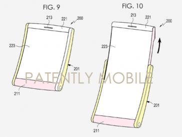 Samsung display estraibile