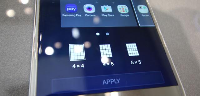 Galaxy S7 griglia