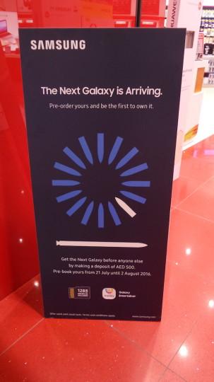 preordine Galaxy Note 7