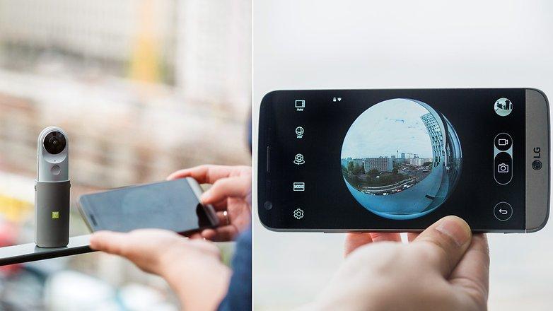 come fare foto a 360