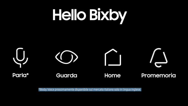 Bixby Voice Stati Uniti