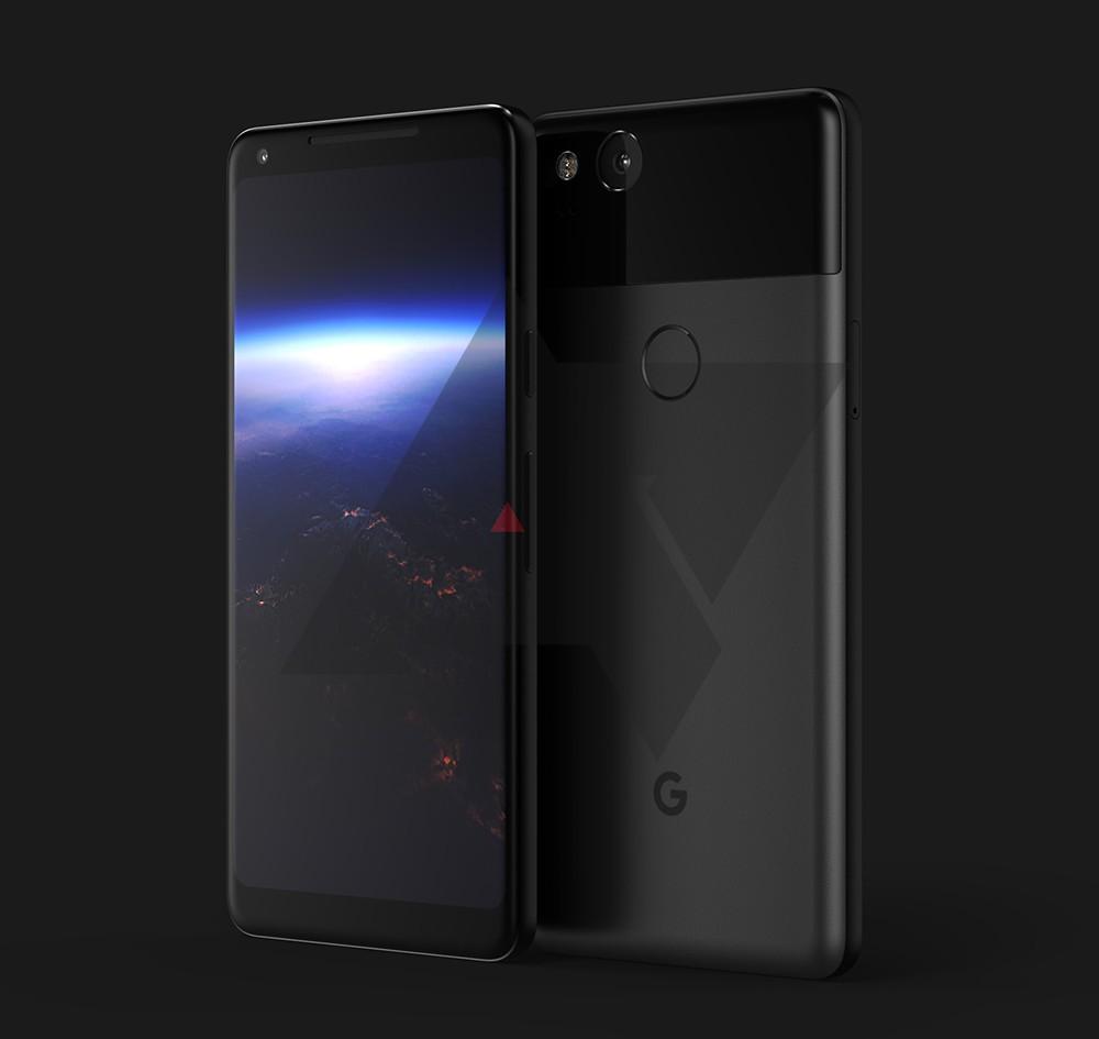 Google Pixel XL 2 render