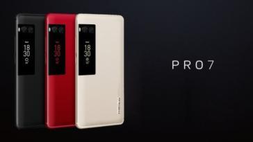 Meizu PRO 7 e PRO 7 Plus ufficiali