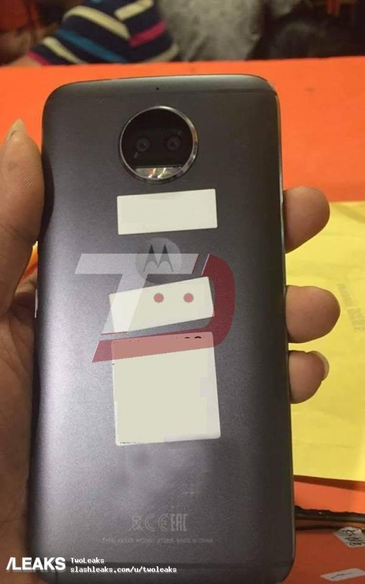 Motorola Moto G5S Plus foto leaked