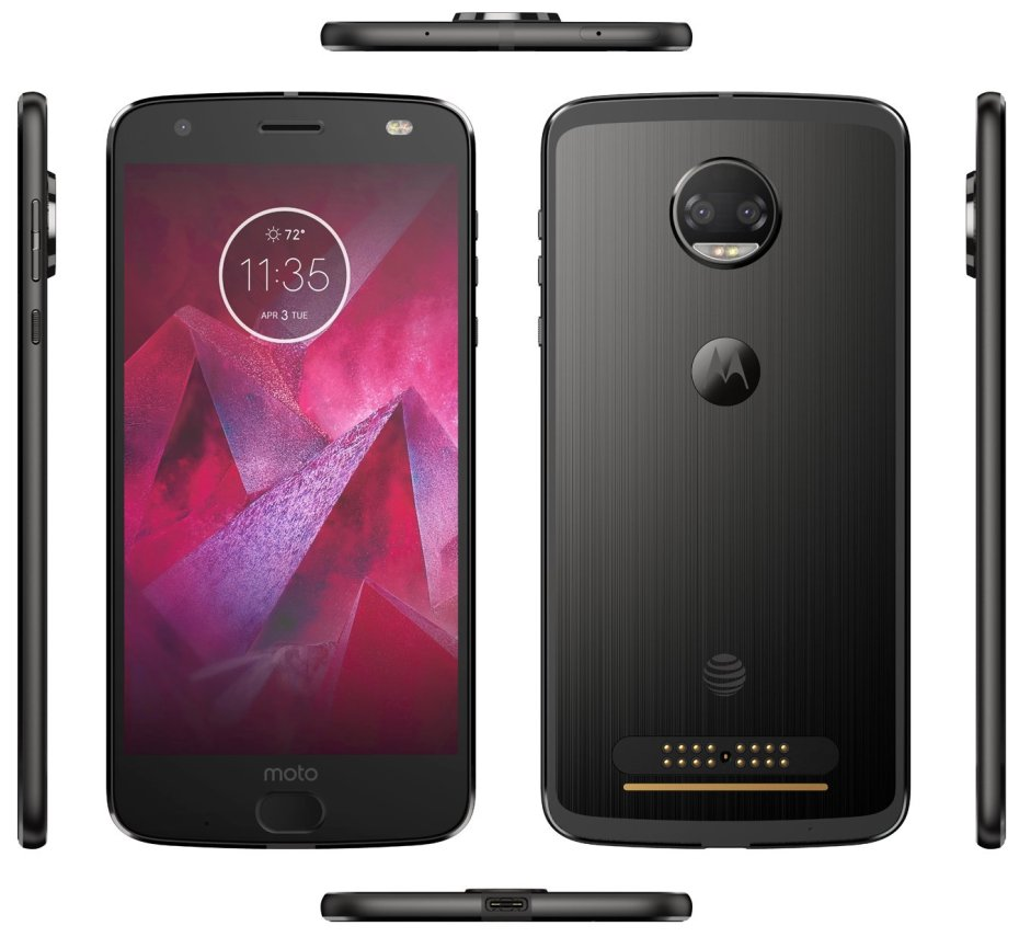 Motorola Moto Z2 Force render