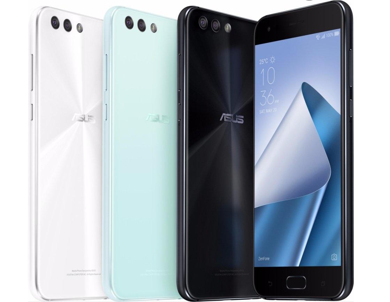 ASUS ZenFone 4, immagini degli smartphone