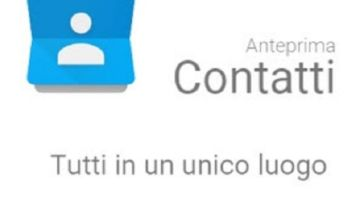 Google Contatti download Play Store