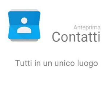Google Contatti download Play Store
