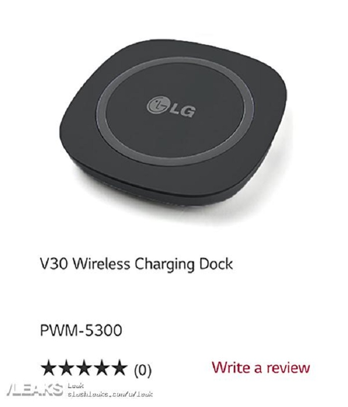 LG V30 base ricarica wireless