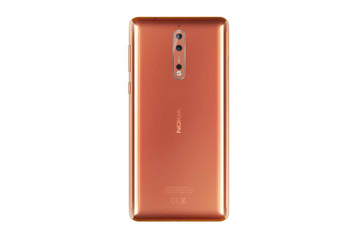 Nokia 8 ufficiale