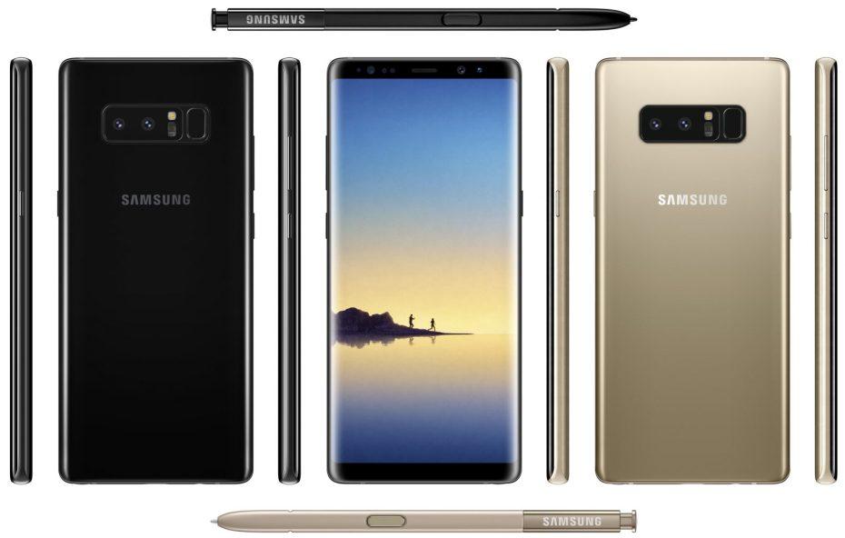 Samsung Galaxy Note 8 arrivo Italia