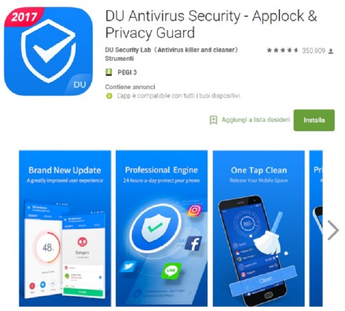 DU Antivirus Security Check Point