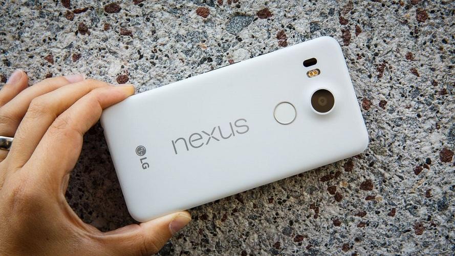 LG Nexus 5X update sicurezza