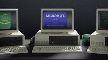 la microsoft app ci riporta al 1985
